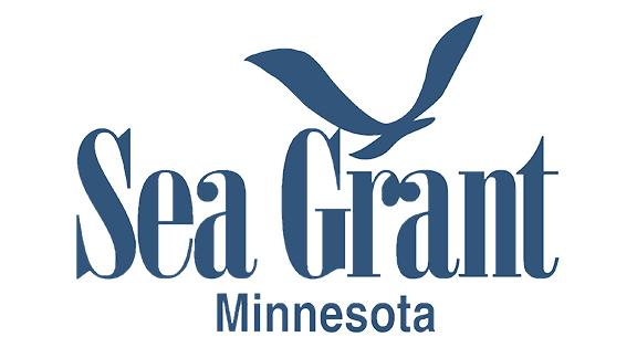 Logo with gull and the text Minnesota Sea Grant.